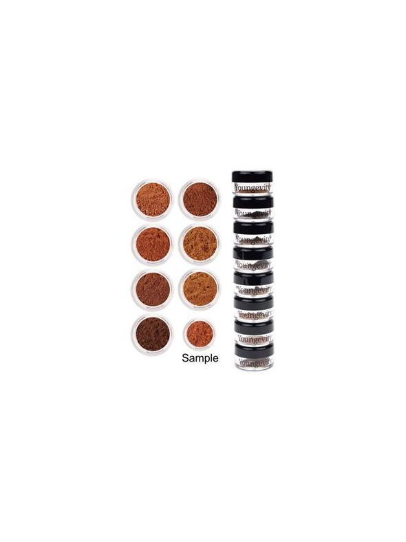 Mineral Makeup Sample Tower - Medium to Dark