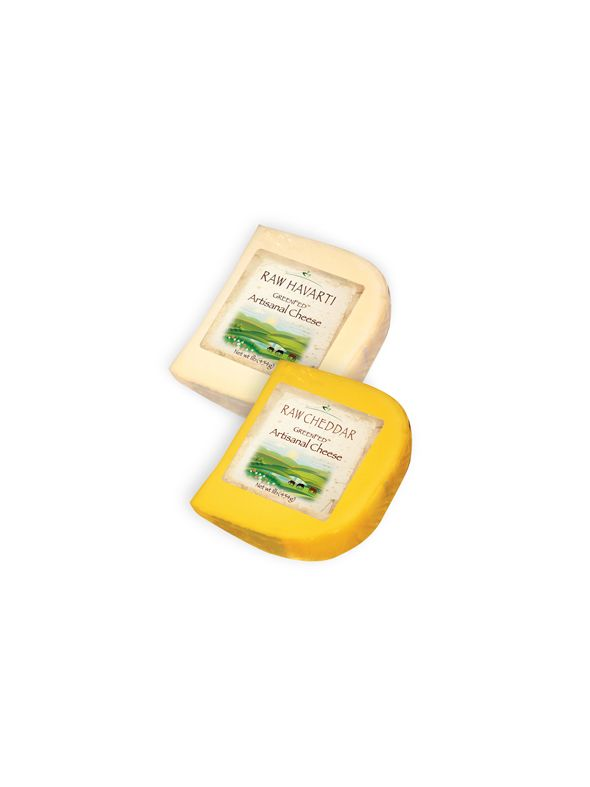 GreenFed Cheddar Reserve and Raw Jack (1 lb of each)