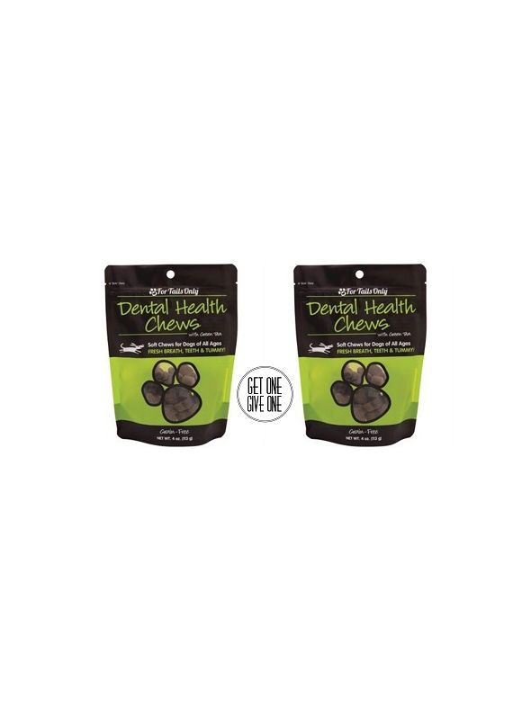 FTO Dental Health Chews for Dogs - 4 oz. Bag